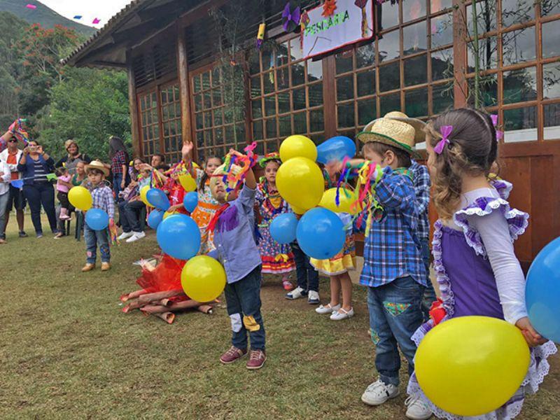 Festa Junina no Recanto!